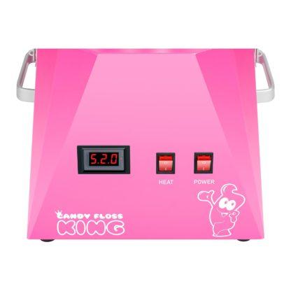 Stroj na cukrovú vatu - 52 cm - ružový - 4