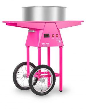 Stroj na cukrovú vatu s vozíkom - 52 cm - 1030 wattov | RCZC-1030-W