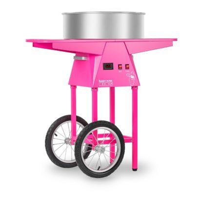Stroj na cukrovú vatu s vozíkom - 52 cm - 1.030 wattov - 1