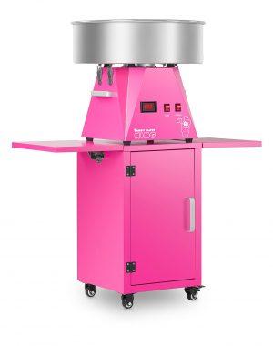 Stroj na cukrovú vatu s vozíkom - sada - 52 cm | RCZK-SET6