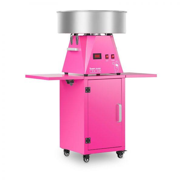 Stroj na cukrovú vatu s vozíkom - sada - 52 cm - ružováružová - 1