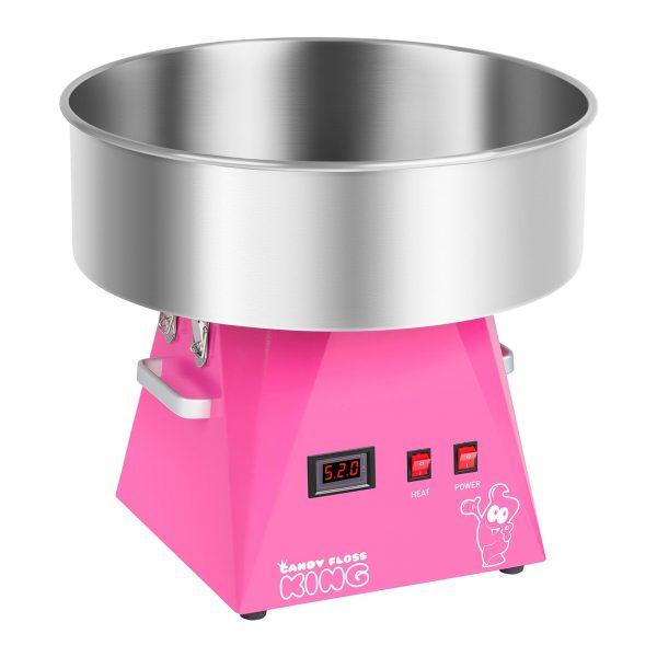 Stroj na cukrovú vatu s vozíkom - sada - 52 cm - ružováružová - 2