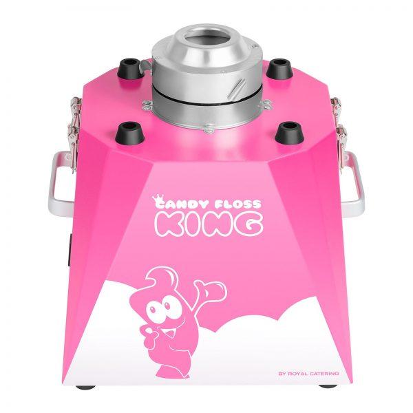 Stroj na cukrovú vatu s vozíkom - sada - 52 cm - ružováružová - 4
