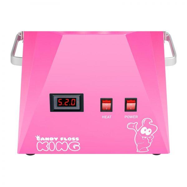 Stroj na cukrovú vatu s vozíkom - sada - 52 cm - ružováružová - 5