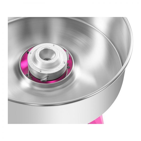 Stroj na cukrovú vatu s vozíkom - sada - 52 cm - ružováružová - 6