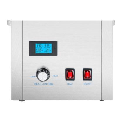 Stroj na cukrovú vatu - sada - so sieťkovým stabilizátorom a ochranným krytom - 62 cm - ušľachtilá oceľ - 5