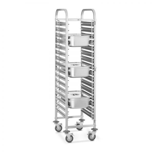 Tabletový vozík - 16 GN zásuviek - 1