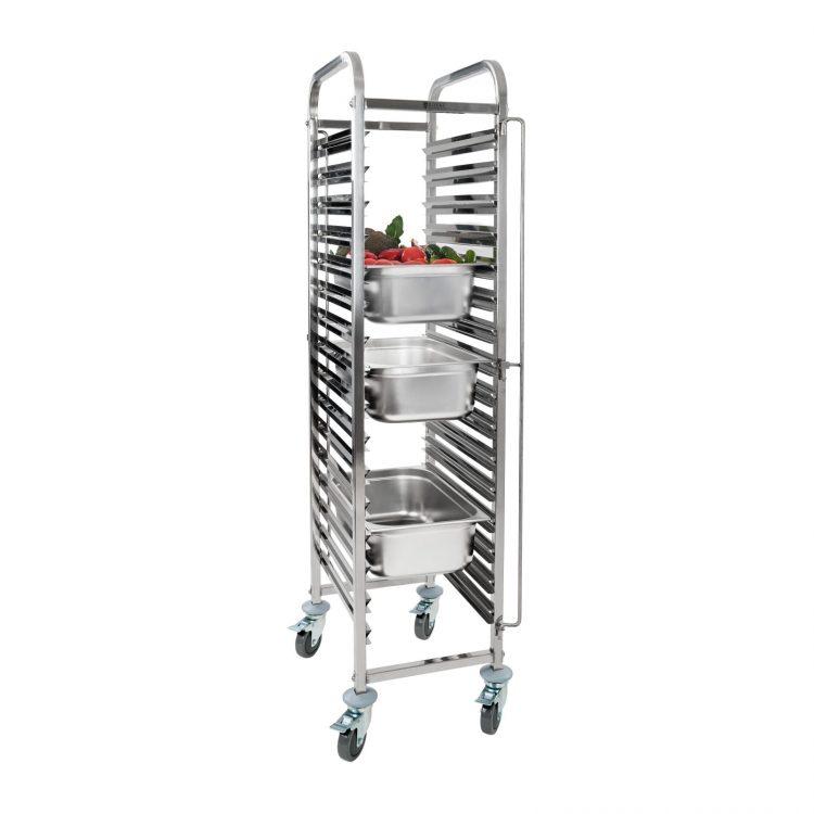 Tabletový vozík - 16 x GN zásuviek - 2