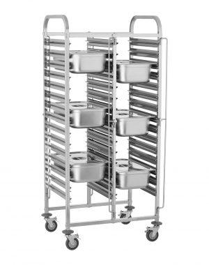 Tabletový vozík - 30 GN zásuviek - 1