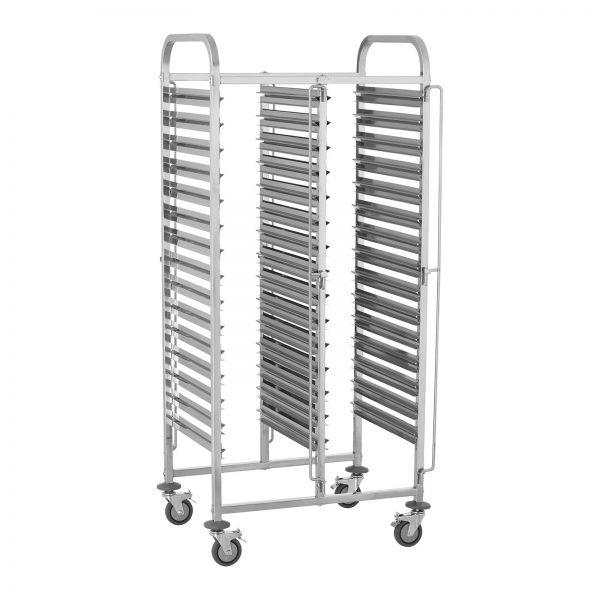 Tabletový vozík - 30 GN zásuviek - 2