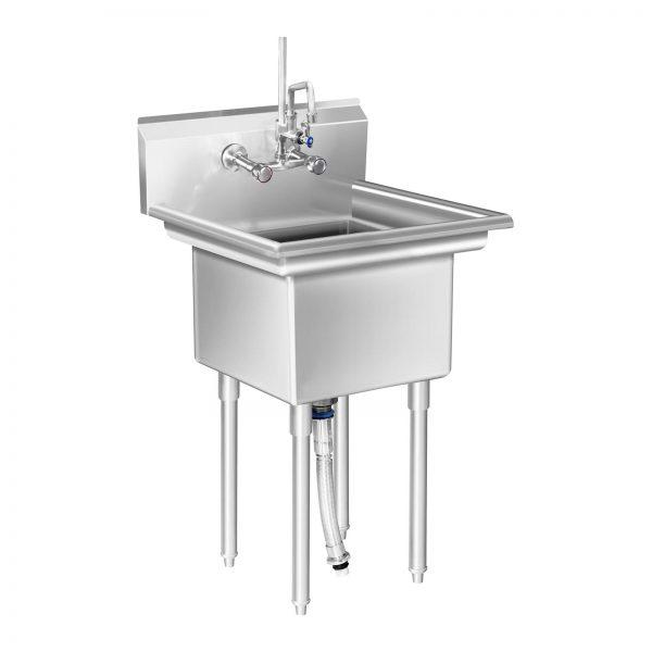 Umývací stôl - 1 umývadlo - 58 x 60 x 110 cm - 1