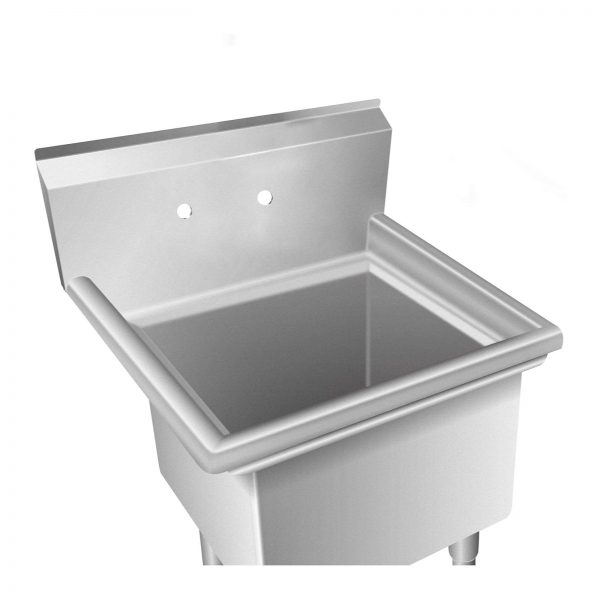 Umývací stôl - 1 umývadlo - 58 x 60 x 110 cm -3