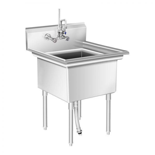 Umývací stôl - 1 umývadlo - 75 x 75 x 111 cm - 1