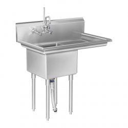 Umývací stôl - 1 umývadlo a plocha na odkvapkávanie - 1