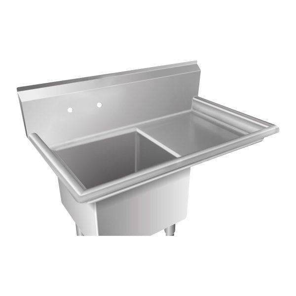 Umývací stôl - 1 umývadlo a plocha na odkvapkávanie - 3Umývací stôl - 1 umývadlo a plocha na odkvapkávanie - 3