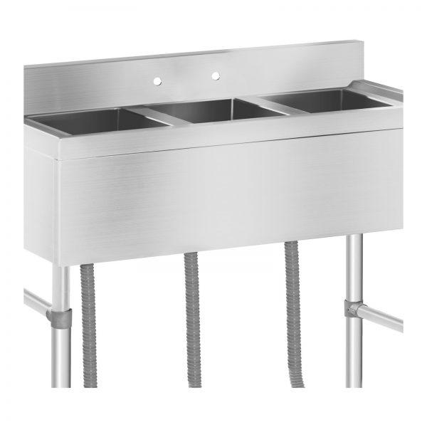 Umývací stôl - 3 umývadlá - 100 x 50 x 97 cm - 3