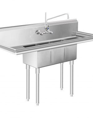 Umývací stôl - 3 umývadlá - 50 x 150 x 110 cm - 1