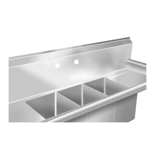 Umývací stôl - 3 umývadlá - 50 x 150 x 110 cm - 3