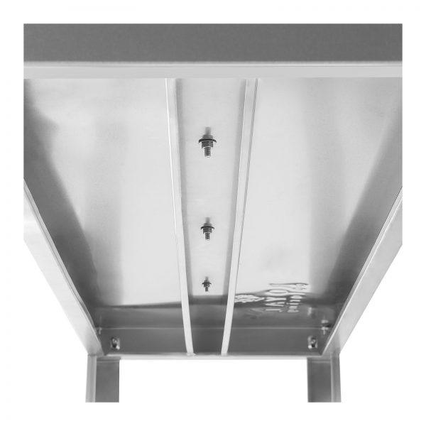 Závesný regál – 120 cm – 60 kg - 4