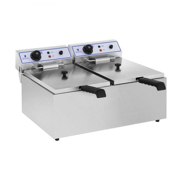Elektrická fritéza - 2 x 17 L - 1
