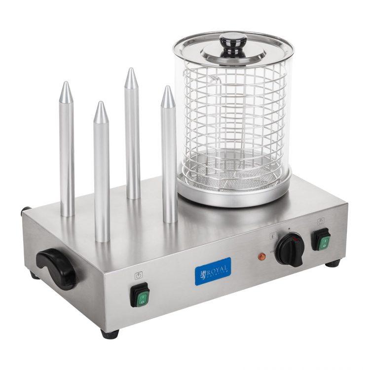 Hotdogovač - vrátane rozpekačov na rožky   RCHW-2300