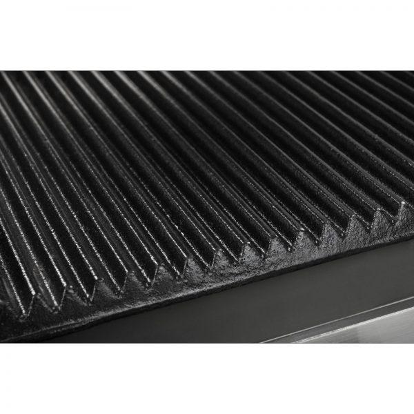 Kontaktný gril - 2 x 1800 wattov - ryhovaný - 2.0 - 6