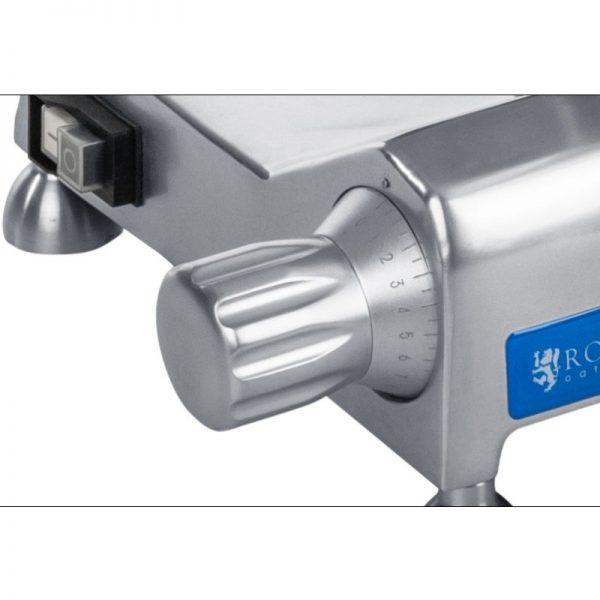 Nárezový stroj - 250 mm - do 12 mm - s hliníkovými držadlami - 4