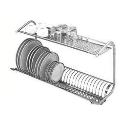 Odkvapkávač riadu - nástenný - 80 cm | O-80