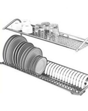 Odkvapkávač riadu nástenný - 50 cm | O-50