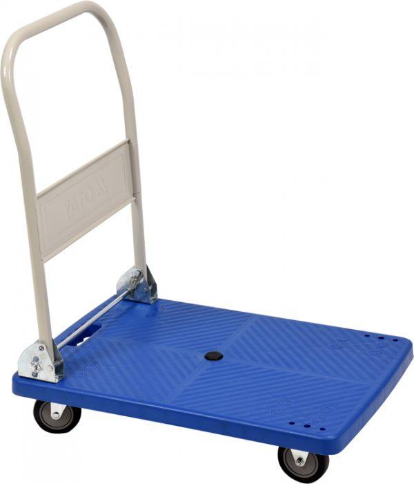 Plošinový vozík plastový - 720 x 470 mm - 2