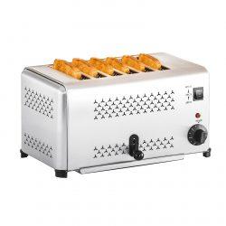 Profesionálny toastovač so 6 otvormi | RCET-6E
