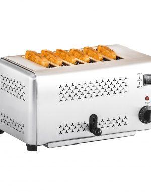 Profesionálny toastovač so 6 otvormi - 1