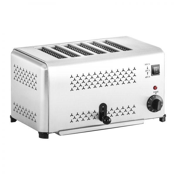 Profesionálny toastovač so 6 otvormi - 2