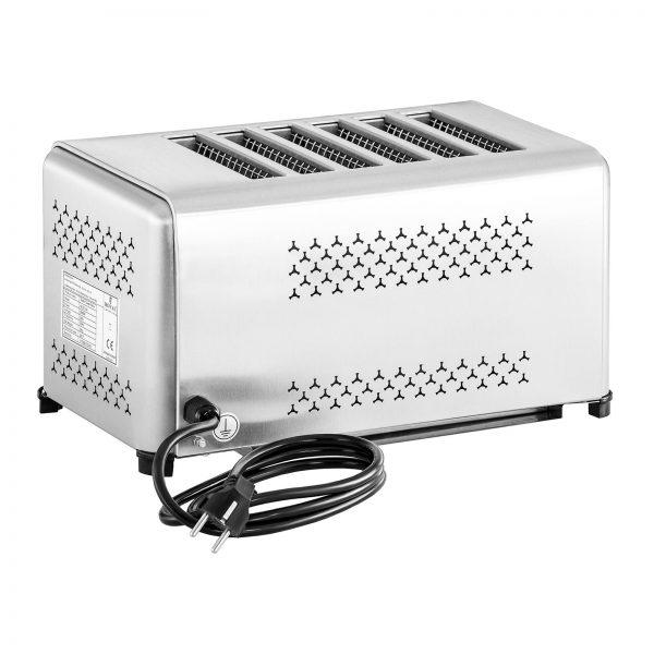 Profesionálny toastovač so 6 otvormi - 4
