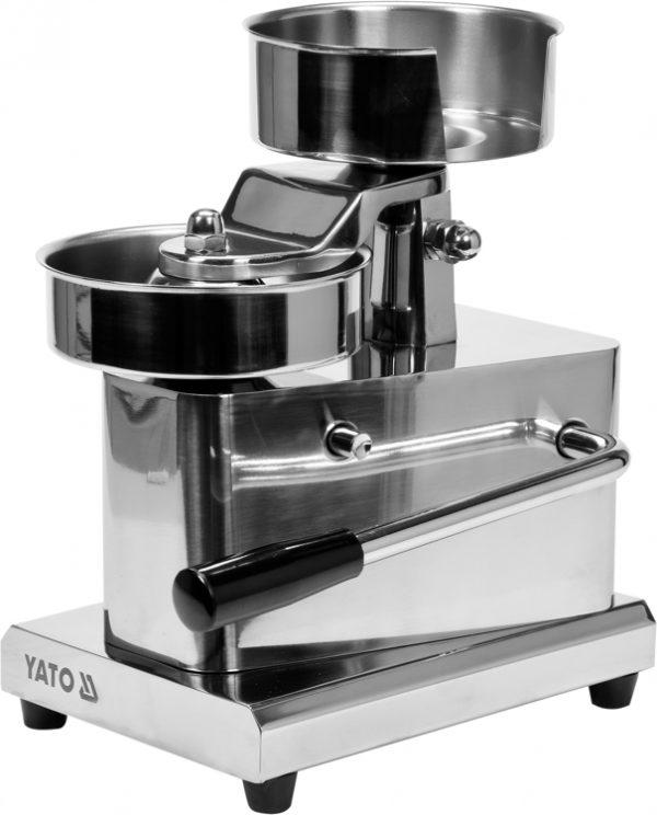 Stroj na hamburger 130 mm - 1