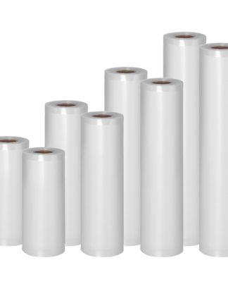 Vákuovacie vrecká – 8 roliek – 48 m – 15 - 30 cm - 1