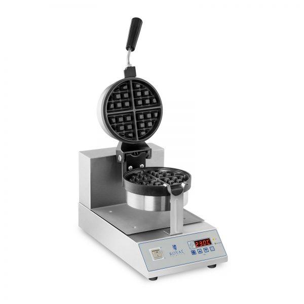 Vafľovač s LED displejom – otočný – 1300 W - 1