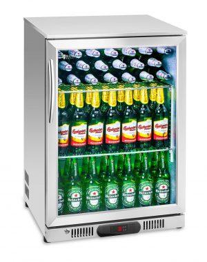 Chladnička na nápoje - 138 L (ušľachtilá oceľ) 1