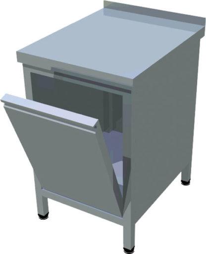 Blok s výklopným košom na odpadky - 1