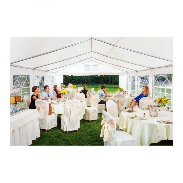 Cateringový párty stan - 4 x 8 m - 500 g m² - 4