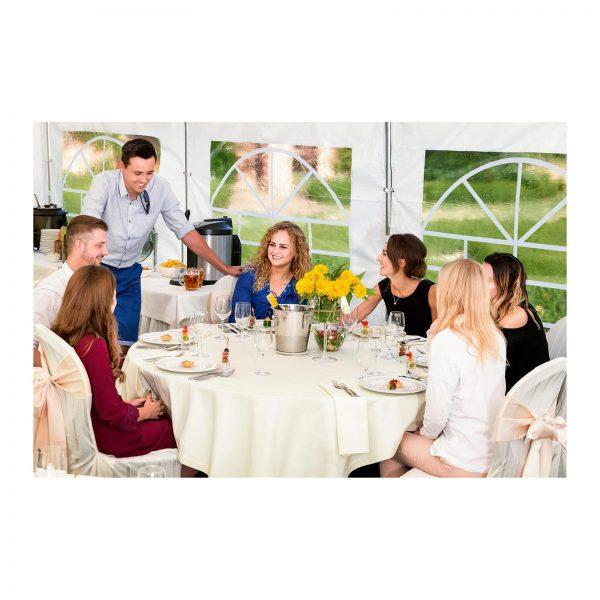 Cateringový párty stan - 4 x 8 m - 500 g m² - 5