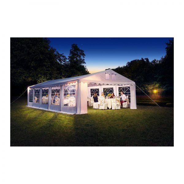 Cateringový párty stan - 4 x 8 m - 500 g m² - 6