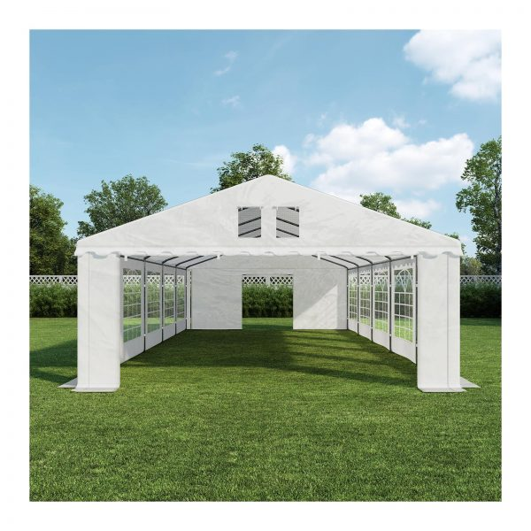 Cateringový párty stan - 5 x 10 m - 500 g m² - 1