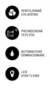 Chladiaca vitrína ARC 100R-
