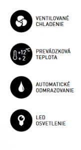 Chladiaca vitrína pultová RTC 72L .