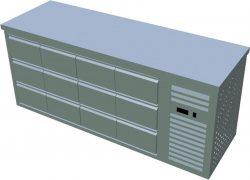 Chladiaci stôl T-PG4 120 - 1