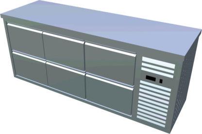 Chladiaci stôl T-PN3 60 - 1