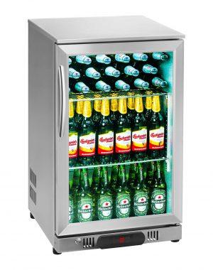 Chladnička na nápoje - 108 L - kryt z ušľachtilej ocele - 1
