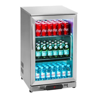 Chladnička na nápoje - 108 L - kryt z ušľachtilej ocele - 2