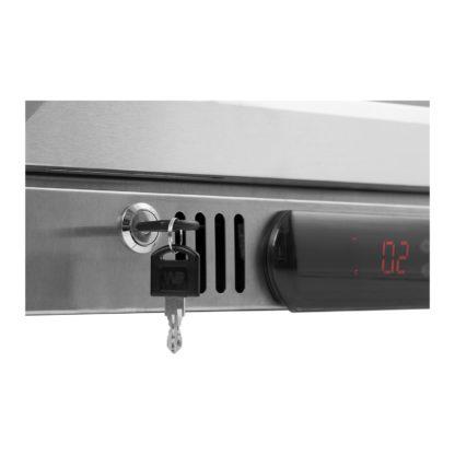 Chladnička na nápoje - 108 L - kryt z ušľachtilej ocele - 8